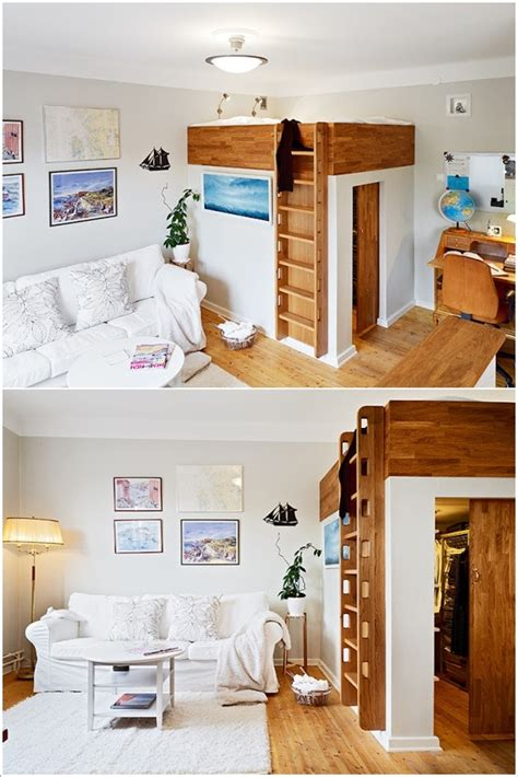Walk In Closet Bed by 17 Ingenious Bed Ideas For Tiny Space Interiors