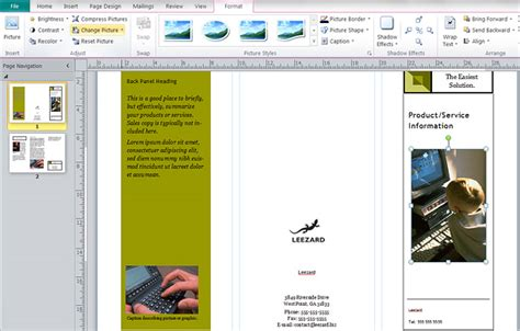 publisher brochure template make a brochure driverlayer search engine