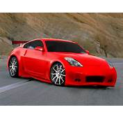 Virtually Tuned Nissan 350z Red Car Body Kitm Pictures