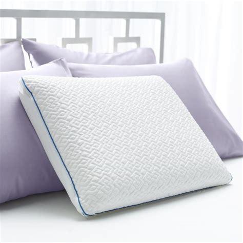 forever cool gel memory foam pillow sleep innovations