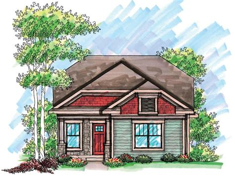 narrow cottage plans bungalow house plans for narrow lots cottage house plans