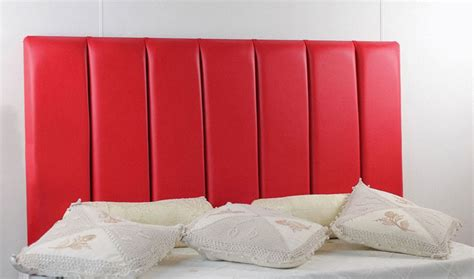 red leather headboard durham faux leather headboard