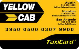 Cab Gift Cards - yellow cab houston taxi service houston taxi houston airport transportation