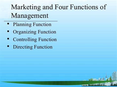 Mb2 Marketing Functions Producers Mba Research by Marketing Management Mba Ppt