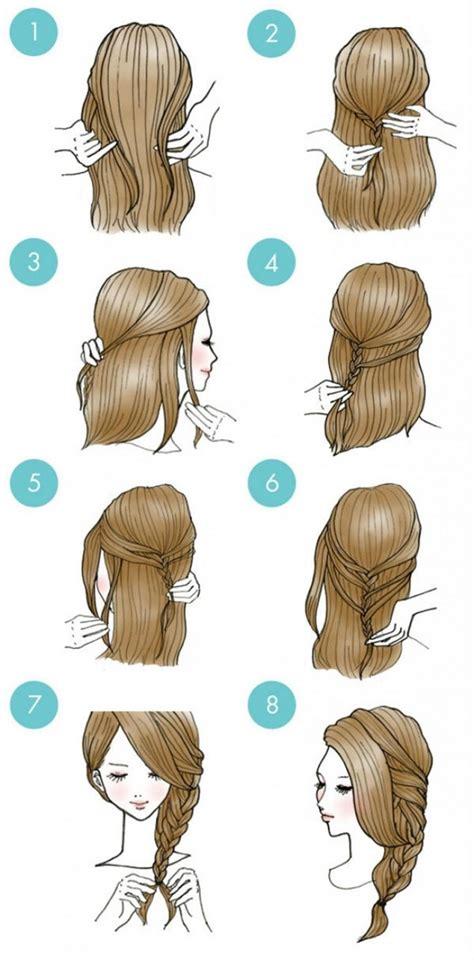 idees de coiffures aussi jolies  simples  reproduire