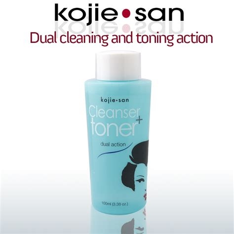 Toner Kojie San kojie san dual cleanser toner