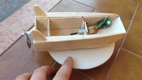 how to make a jet boat out of paper my homemade rc boat rc boats technology pinterest
