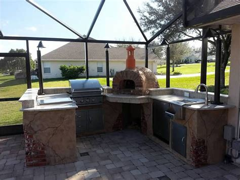 another outdoor kitchen with our wood fired oven outdoor kitchen wood fired oven