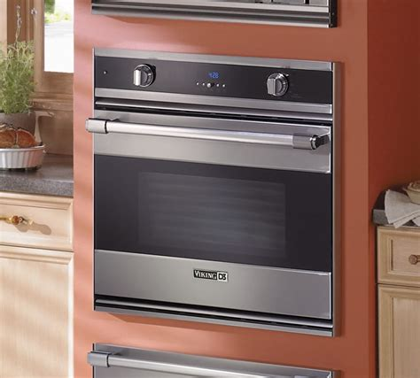 viking rdsoe306ss 30 inch single electric wall oven with 4