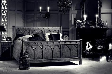 Cream Colored Bedroom Furniture - creating a gothic haven in your bedroom
