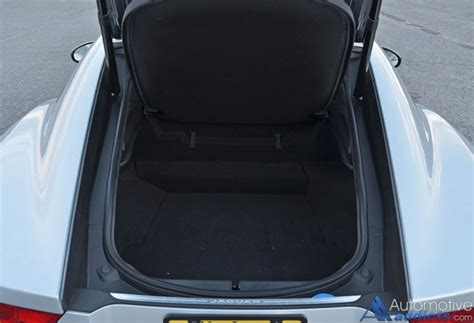 jaguar  type  coupe trunk cargo