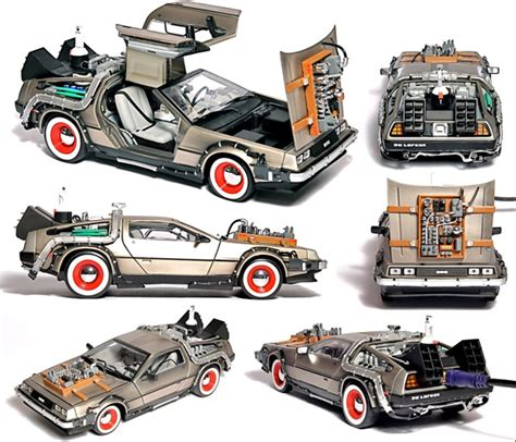 Hotwheels Bttf Part2 Retro Flash Rods Crams Drive Into Doc Brown S Ride Technabob