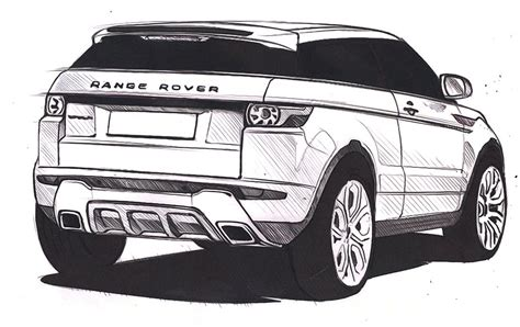 range rover sketch land rover on quot exclusively from our design studio