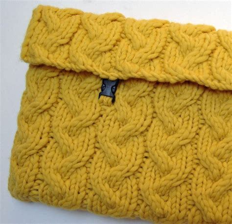 how to knit a laptop sleeve knitting pattern laptop sleeve