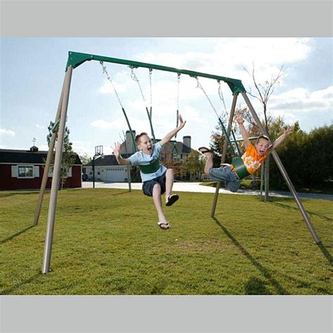 lifetime metal swing set wooden swingsets playsets and swingset plans kits for