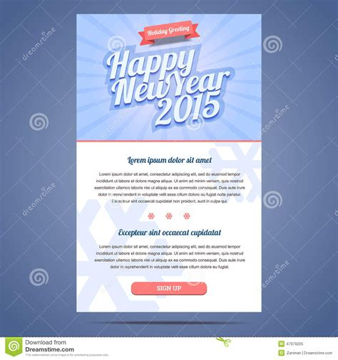 new year email template merry christmas happy new year