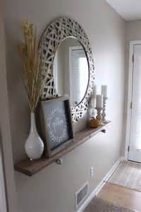 Entryway Wall Decor 25 Best Ideas About Mirror Above On