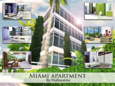Decoration Stickers For Walls pralinesims miami apartment sims 4 updates sims 4