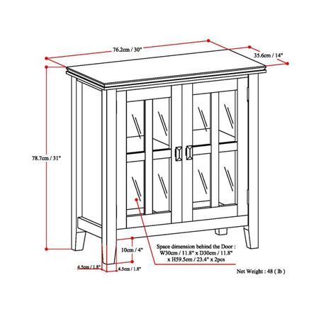 simpli home artisan medium storage cabinet amazon com simpli home artisan low storage cabinet