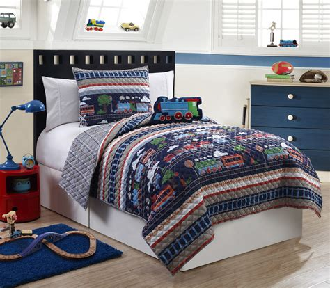 train comforter set furry friends all aboard train 3 piece quilt set