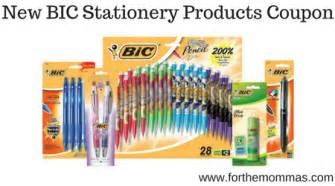 new bic stationary product printable freebies at staples bic stationery products is back stock up at target as