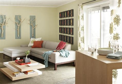 nature inspired basement family room contemporary