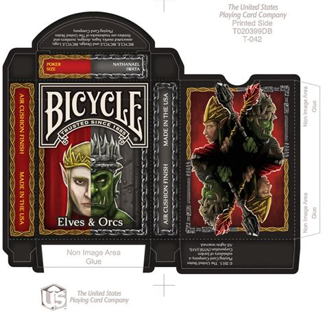 bicycle card tuck box template win steunk goodies by artist nat iwata