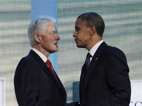 file barack obama and bill clinton in the oval office jpg what bill clinton has done for barack obama the