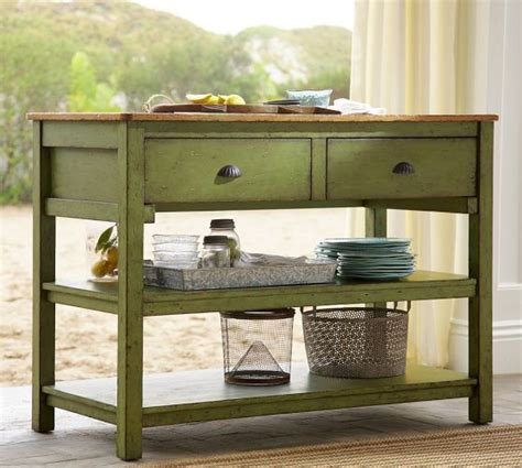 kitchen islands pottery barn jocelyn console table pottery barn homestyle