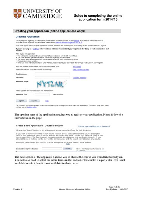 Acceptance Letter Cambridge Of Cambridge Graduate Admission