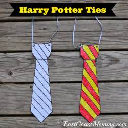 Harry Potter Tie Template by East Coast Harry Potter Glasses And Ties With Free