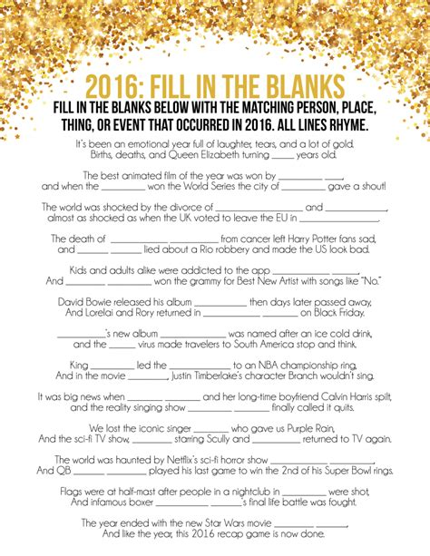 new year quiz pdf 2016 new year s printable trivia