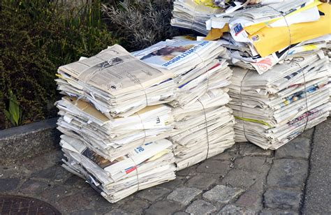 recycled newspaper paper what types of paper can be recycled