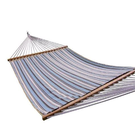 vivere 13 ft sunbrella quilted polyester hammock
