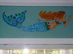 decor home decor mermaid wall decor home mermaids