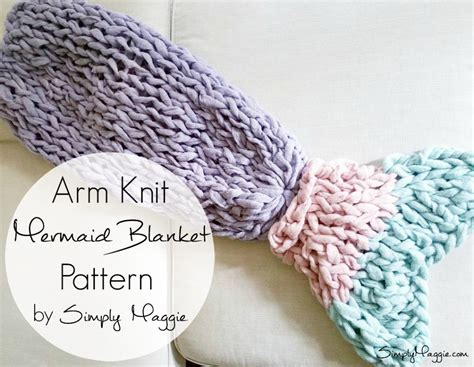 pattern arm knitting arm knit mermaid blanket free pattern simplymaggie com