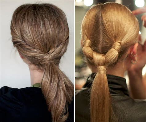 hairstyle ideas ponytail stylish cute ponytails ideas for medium to long hair
