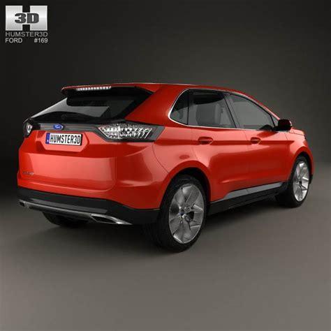 ford edge models ford edge 2015 3d model humster3d