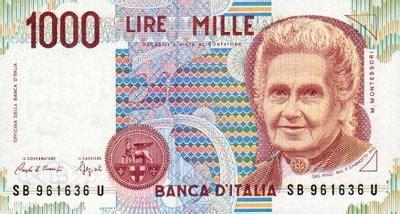 italie : la lire monnaie italienne