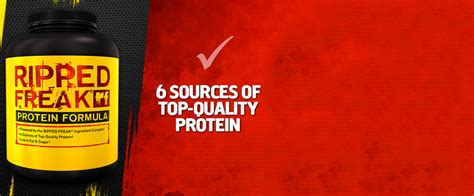 Ripped Freak Protein fitness and sports supplement store for nutrition