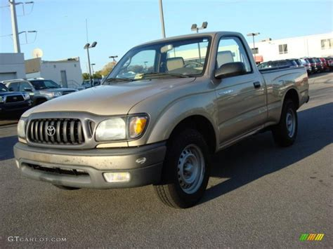 2001 Toyota Tacoma Regular Cab Mystic Gold Metallic 2001 Toyota Tacoma Regular Cab