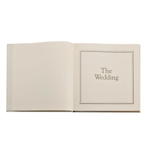 Wedding Journal by Wedding Journal Keepsake Guest Book From Blue Sky Papers