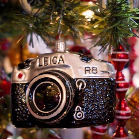 shutterbug christmas ornaments leica camera ornament