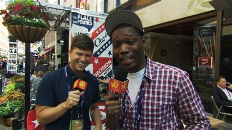 michael che from saturday night live watch colin jost and michael che hit the streets of