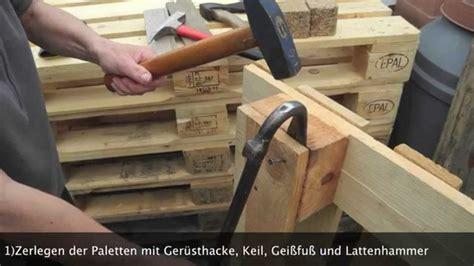hundeschlafplatz selber bauen europalettenlounge zum selber machen