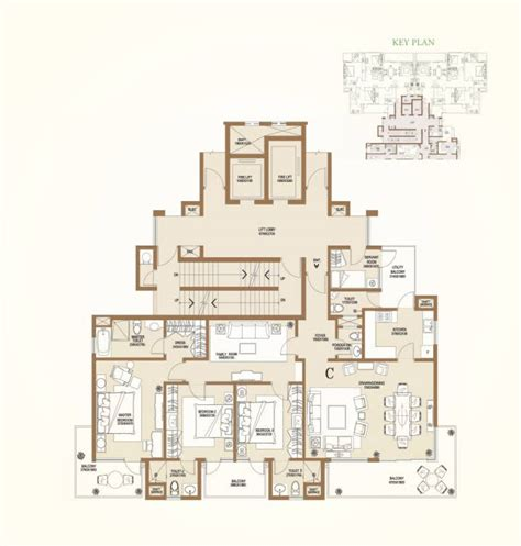 central park floor plan central park 2 bellevue central park ii sector 48 gurgaon