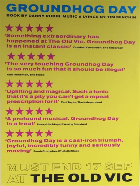 groundhog day the musical tim minchin 183 groundhog day the musical