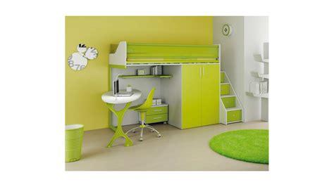 lit mezzanine enfant chambre enfant avec lit mezzanine bureau