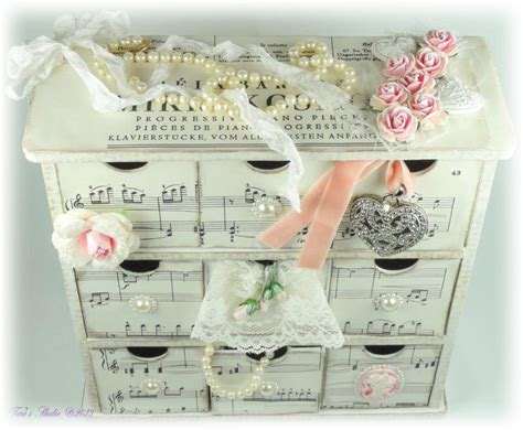 shabby chic craft projects shabby chic drawers tara s craft studio