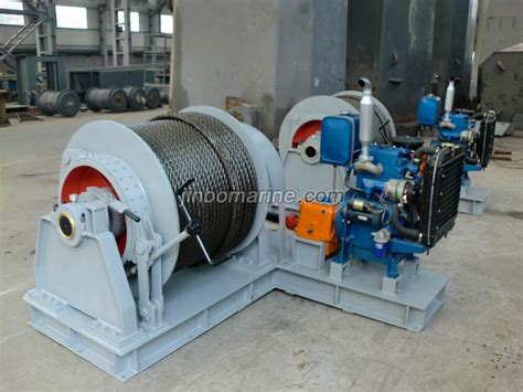 boat engine winch diesel engine driven anchor winch buy marine winch from